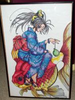 BellDandy on a Fish by mrinx