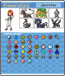 My Pokemon Trainer Card by xavs-pixels