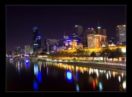 melbourne lights by danielh85