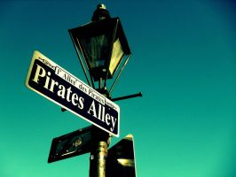 Pirate Alley by kacibizarre