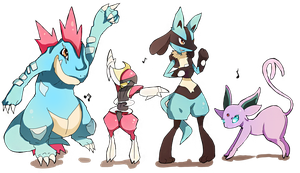 Pokemon Boogie by Geegeet