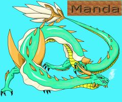Manda Redesign by Skyegojira