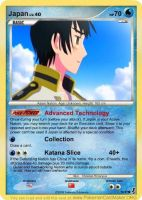 Hetalia Card: Japan by Demmi-chan