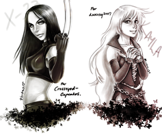 Request: X-23 and Kayla by waterpieces