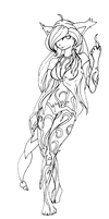 SKETCH::PoisonIvy:Rosetta: by Rayne-Is-Butts
