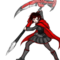 Rwby Ruby doodle by Razenix-Angel