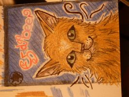 .::ACEO trade with Chocobeery::. by Snowstorm-wolf