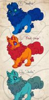 Puppy Foo adoptables 7 -CLOSED- by Seffiron