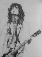 Jimmy Page by kzeor
