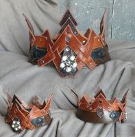 Leather Crown by Astanael