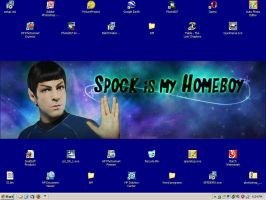 Spock Is My Homeboy by AnimeElf7