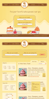Bakery Website Design by ujala