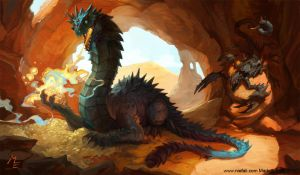 Pox-Nora-dragon by Vaejoun