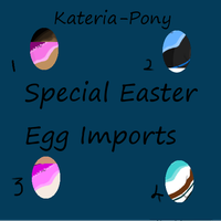 Special Kateria Pony Easter Egg Imports! by Moved-Account2