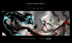 The new Art of Thomas N. Perkins IV site is up by tnperkins
