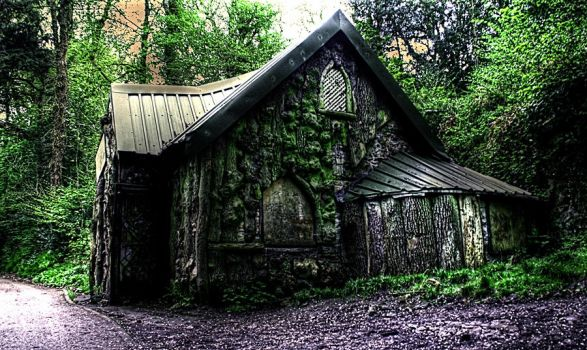witches cottage hdr 2 by AngiWallace