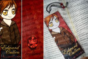 edward cullen bookmark by psycolicious