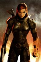 iPhone Jane Shepard 01 by PimplyPete