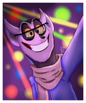 Selfie at the party by Stevulien