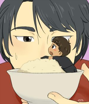 Phichit On Rice by n4c9s