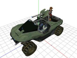 MMD Warthog from Halo by Valforwing