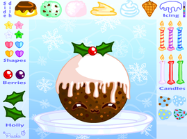Christmas Pudding Game Preview by Princess-Peachie
