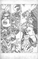 HAUNT VS. page 4 pencils by ejimenez
