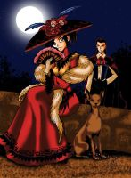 Red Catrina by EviilMinina