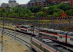 train tilt shift by andanzza