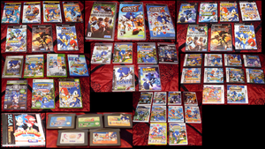Sonic Collection .:Games:. by VeggieMadness