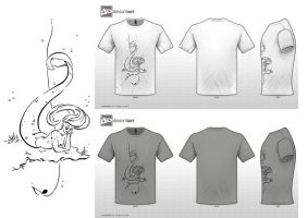 Musically Inspired T-shirt by Capuline