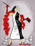 10-25-13 Cruella de Vil  Finished by artinthegarage
