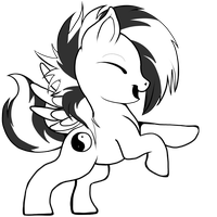 YinYang MLP by HarlequinHare