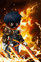 Mitsuhiro's Pyro Soul by Cagefighter79