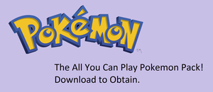All You Can Play Pokemon Pack by FloralFlower