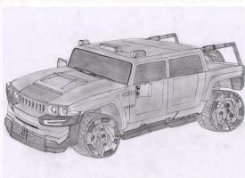 hummer concept by anikelahi
