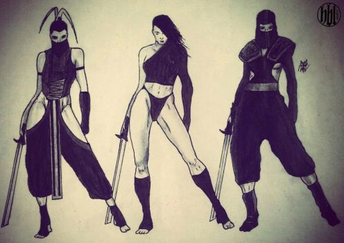 League of Assassins (Batman: Arkham city) by Haexbralis-studio