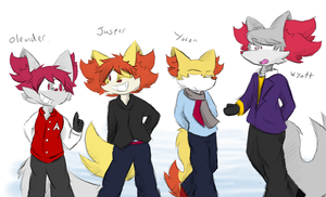 Double the Fox Brothers by Dapuffster