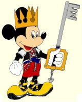 Mickey Mouse King by RedMcSpoon