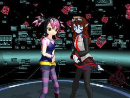 Tfp Vocaloids Paws And  her anutie Miko by tfpBeeautobot