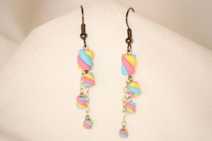 Marshie Earrings by xquiescentdeath
