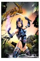 Psylocke Color by kcspaghetti