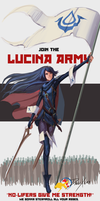 The Lucina Army:  Don't F*#% with the Waifu by DashXero