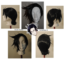 Claude Faustus Wig Commission by Phantom-Shadow