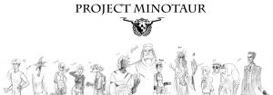 Project Minotaur Group Sketch by MiloNeuman