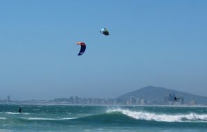 Kite Surfing - lose the board by AfricanObserver