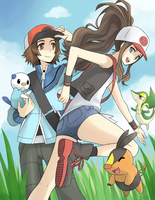 Pokemon Black and White by gladyfaith