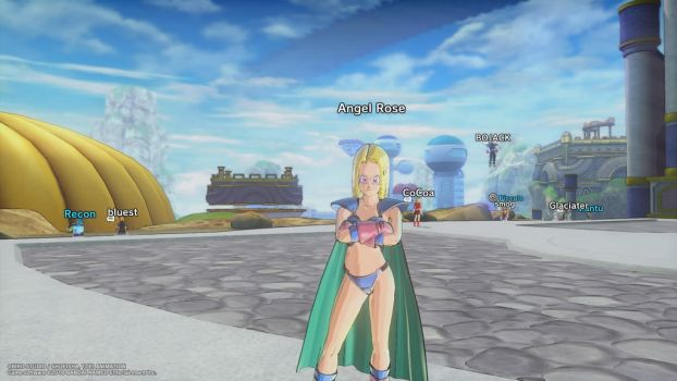 Angel Rose In Dragon Ball: Xenoverse 2 -18- by Knuxamyloverfan
