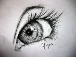 You always smile but in your eyes your sorrow show by prixiie