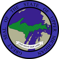Seal of the State of Upper Michigan by Coliop-Kolchovo